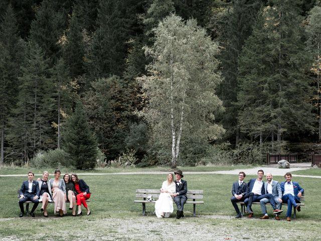 Le mariage de Florent et Mathilde à Les Contamines-Montjoie, Haute-Savoie 2