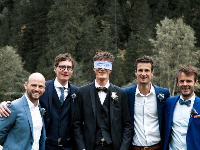 Le mariage de Florent et Mathilde à Les Contamines-Montjoie, Haute-Savoie 11