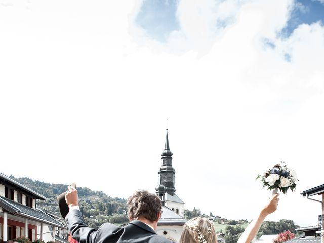 Le mariage de Florent et Mathilde à Les Contamines-Montjoie, Haute-Savoie 19
