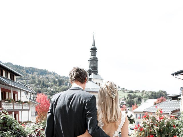 Le mariage de Florent et Mathilde à Les Contamines-Montjoie, Haute-Savoie 20