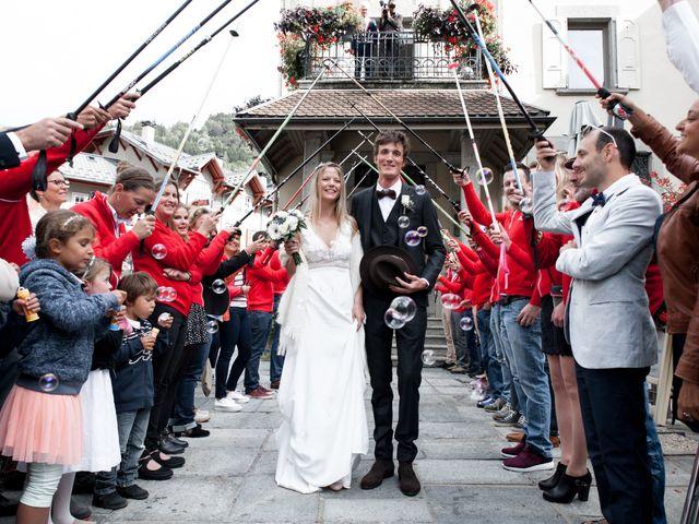 Le mariage de Florent et Mathilde à Les Contamines-Montjoie, Haute-Savoie 21