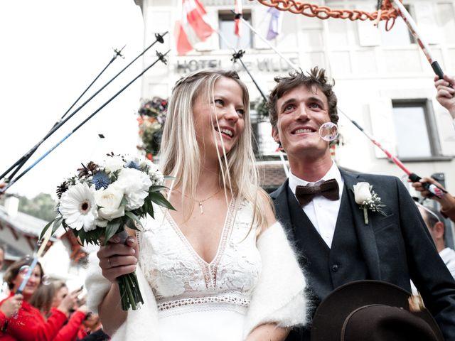 Le mariage de Florent et Mathilde à Les Contamines-Montjoie, Haute-Savoie 22