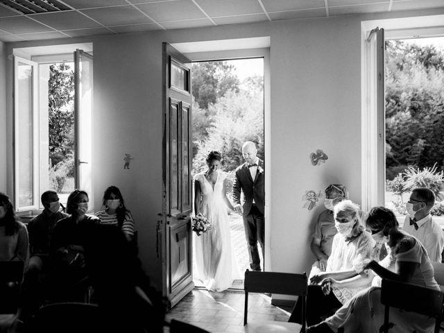 Le mariage de David et Meena à Balizac, Gironde 9
