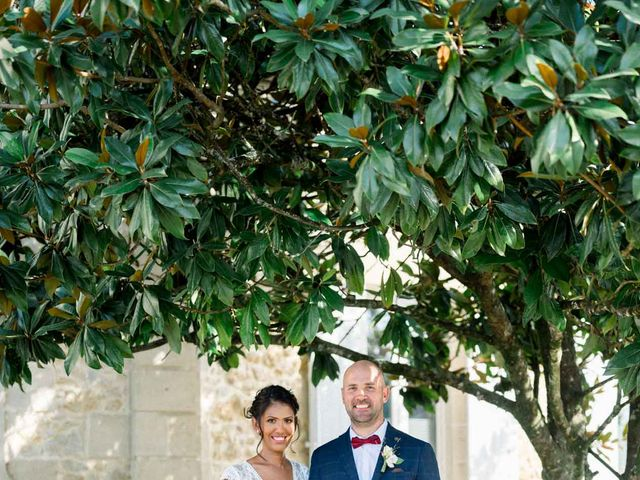 Le mariage de David et Meena à Balizac, Gironde 13