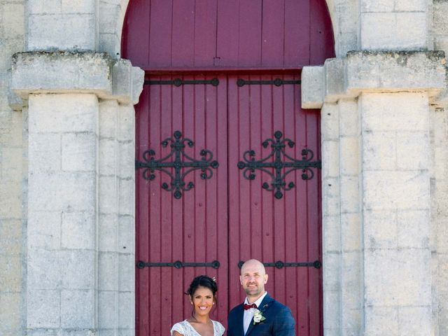 Le mariage de David et Meena à Balizac, Gironde 15