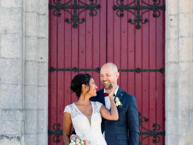Le mariage de David et Meena à Balizac, Gironde 17