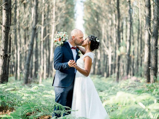 Le mariage de David et Meena à Balizac, Gironde 25