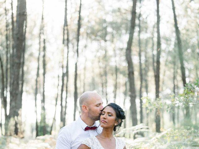 Le mariage de David et Meena à Balizac, Gironde 27