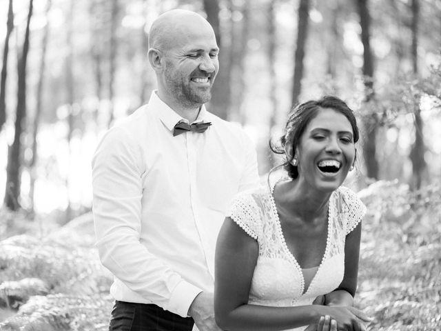 Le mariage de David et Meena à Balizac, Gironde 28