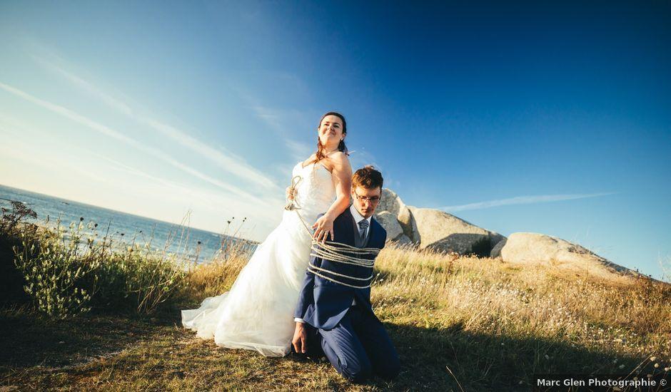 Le mariage de Jean-Christophe et Mylène à Kerlouan, Finistère
