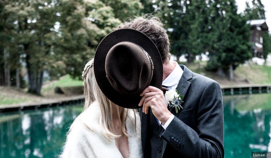 Le mariage de Florent et Mathilde à Les Contamines-Montjoie, Haute-Savoie