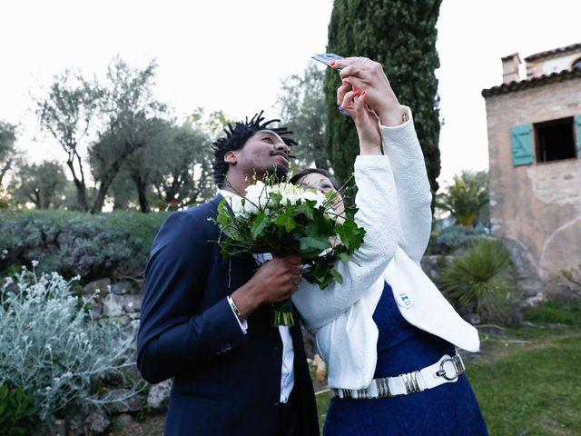 Le mariage de Vladimir et Mélanie à Le Rouret, Alpes-Maritimes 14