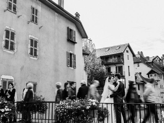 Le mariage de Cédric et Ingrid à Annecy, Haute-Savoie 16