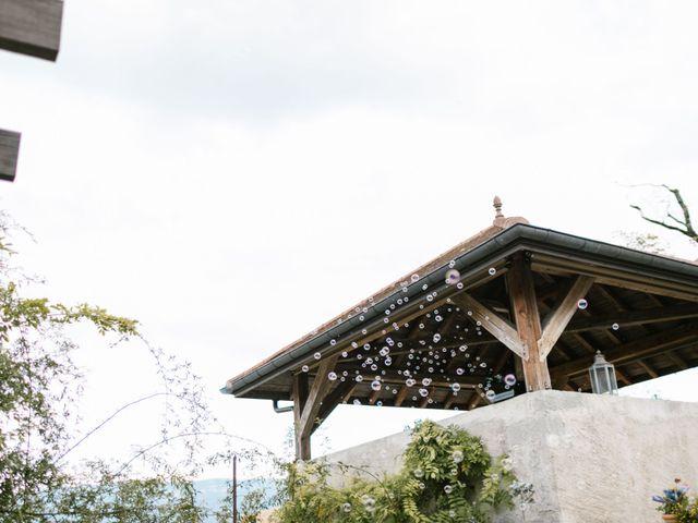 Le mariage de Cédric et Ingrid à Annecy, Haute-Savoie 27