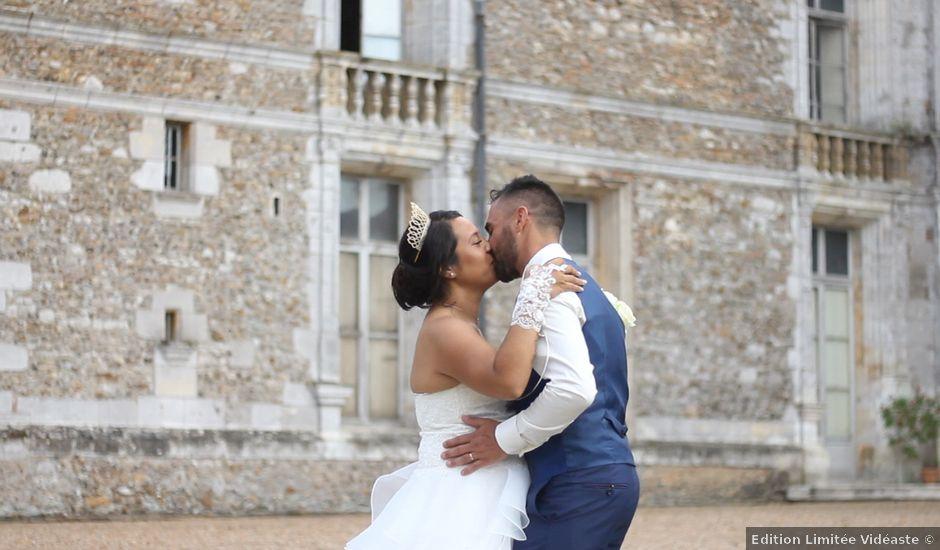 Le mariage de David et Candice à Courtalain, Eure-et-Loir