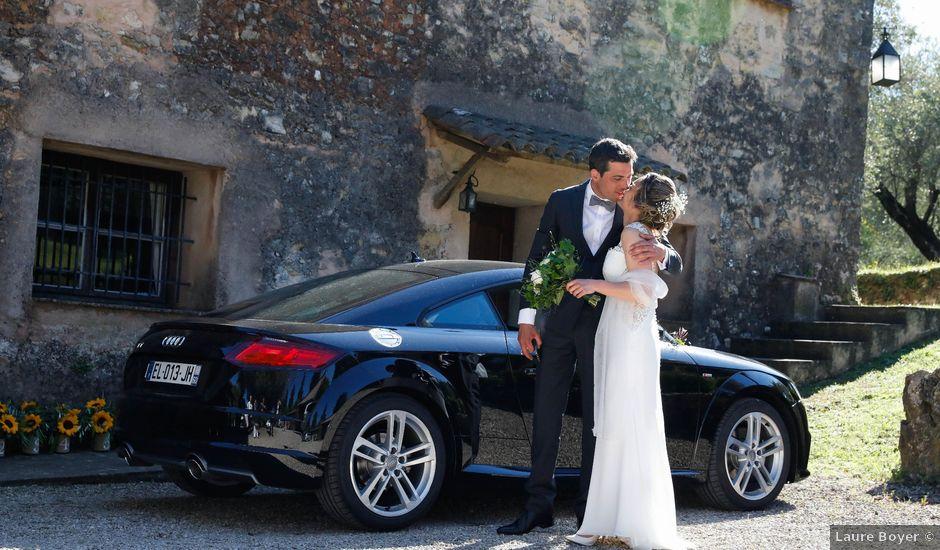 Le mariage de Vladimir et Mélanie à Le Rouret, Alpes-Maritimes