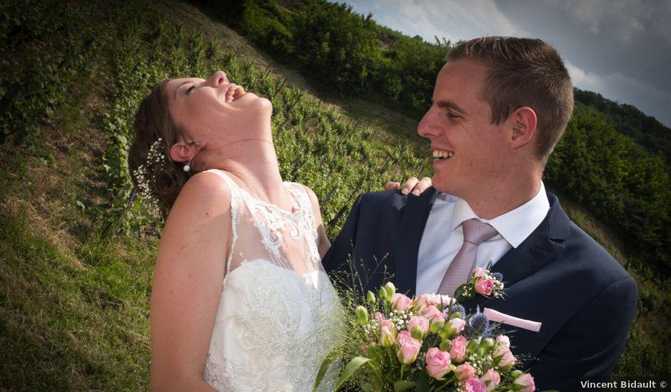 Le mariage de Alexis et Marine à Voiteur, Jura