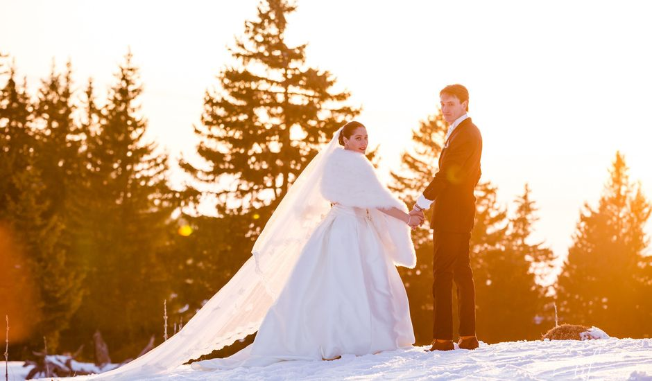Le mariage de Cédric et Ingrid à Annecy, Haute-Savoie