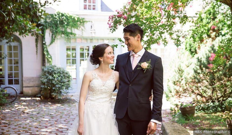 Le mariage de Lam et Katherine à Tours, Indre-et-Loire