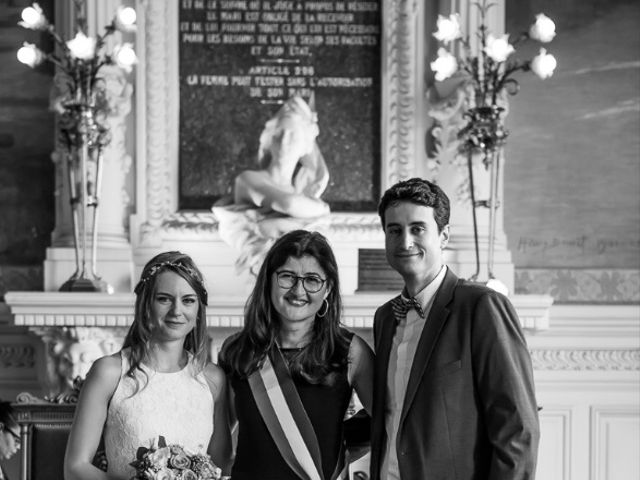 Le mariage de Yiannis et Marine à Dampsmesnil, Eure 7
