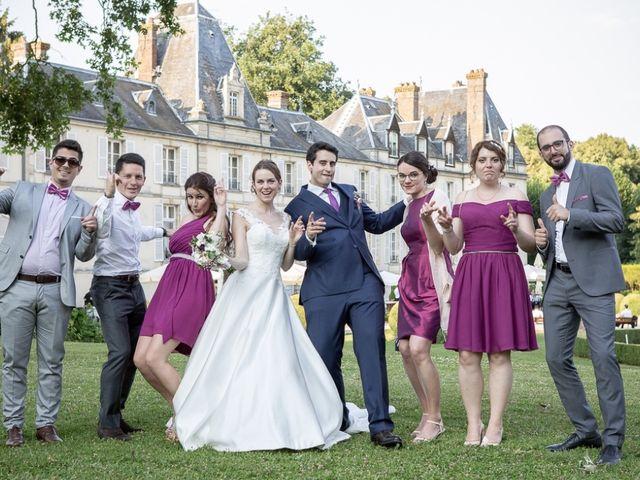 Le mariage de Yiannis et Marine à Dampsmesnil, Eure 2