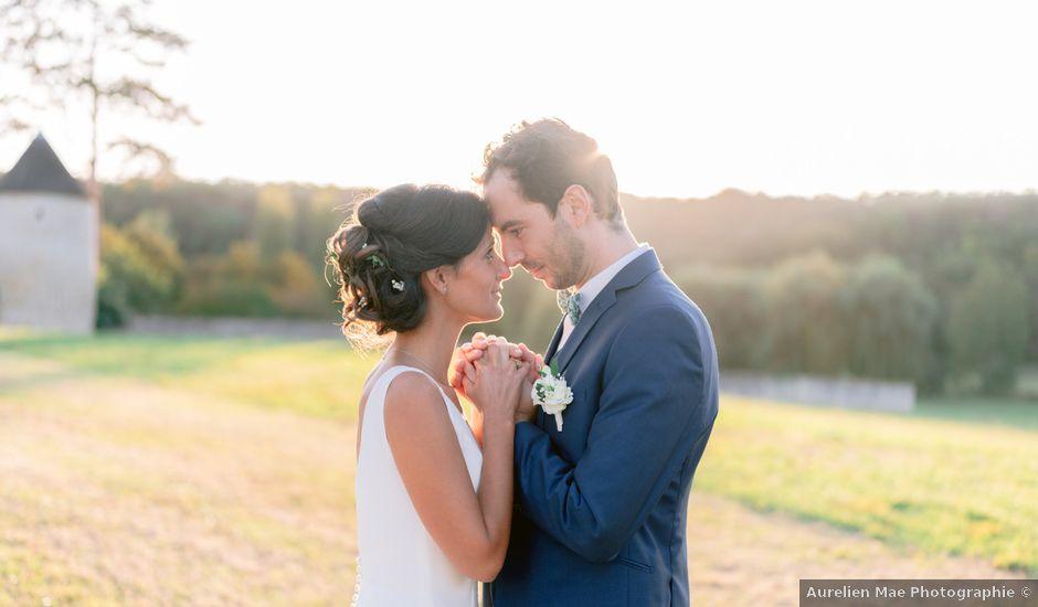 Le mariage de Vincent et Amandine à Tendu, Indre