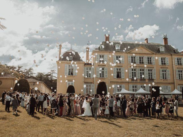 Le mariage de Valentin et Medanie à Anse, Rhône 35