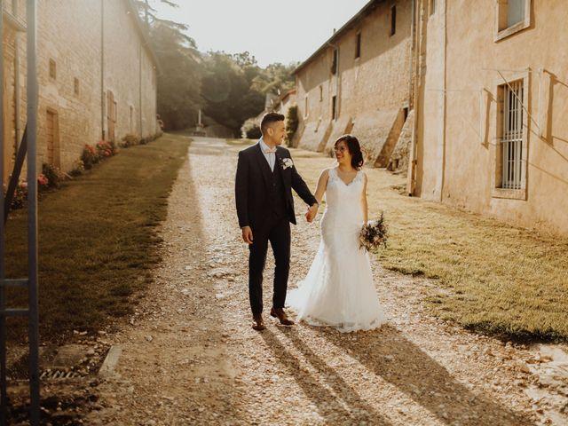 Le mariage de Valentin et Medanie à Anse, Rhône 39