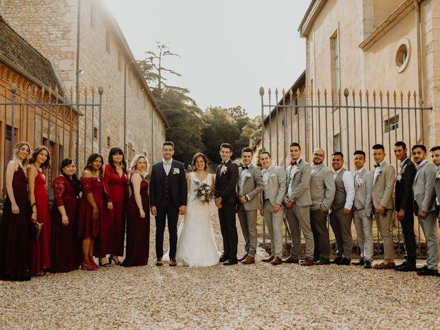 Le mariage de Valentin et Medanie à Anse, Rhône 40