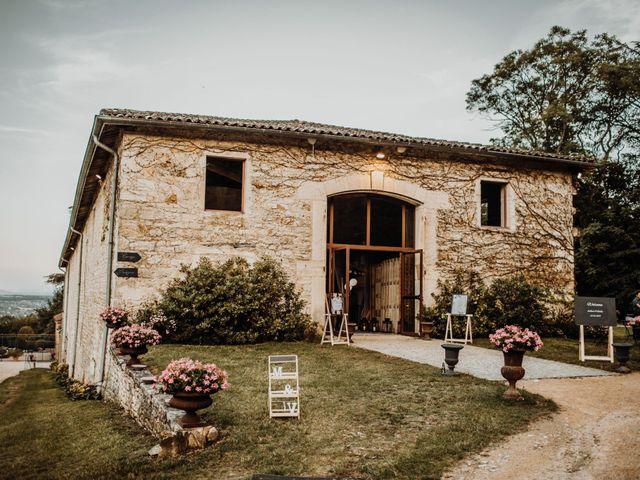 Le mariage de Valentin et Medanie à Anse, Rhône 55