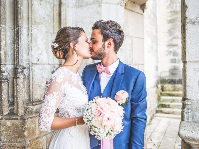 Le mariage de Romain et Amélie à Saint-Cyr-sur-Loire, Indre-et-Loire 1