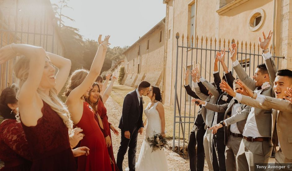 Le mariage de Valentin et Medanie à Anse, Rhône