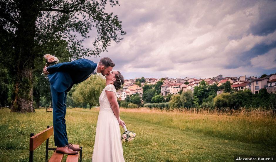 Le mariage de Jean Baptiste et Pauline à Lempdes, Puy-de-Dôme