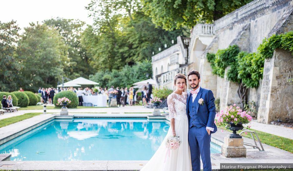 Le mariage de Romain et Amélie à Saint-Cyr-sur-Loire, Indre-et-Loire