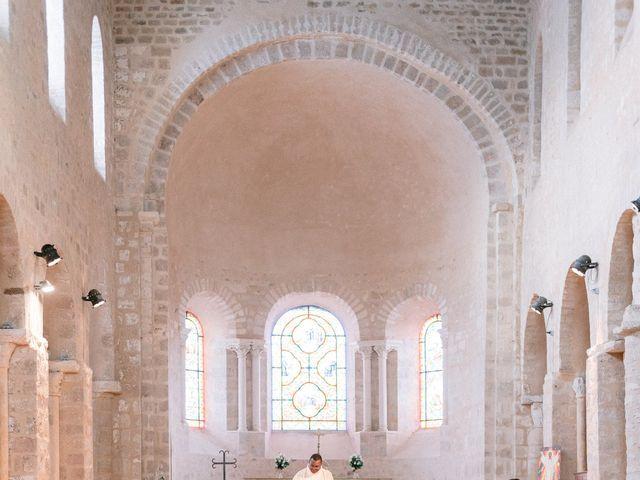 Le mariage de Fabrice et Aurélie à Vendoeuvres, Indre 11
