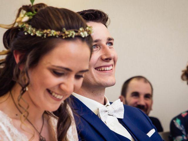 Le mariage de Baptiste et Sarah à Morannes, Maine et Loire 3