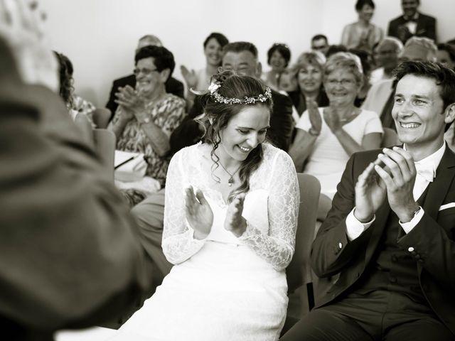 Le mariage de Baptiste et Sarah à Morannes, Maine et Loire 4