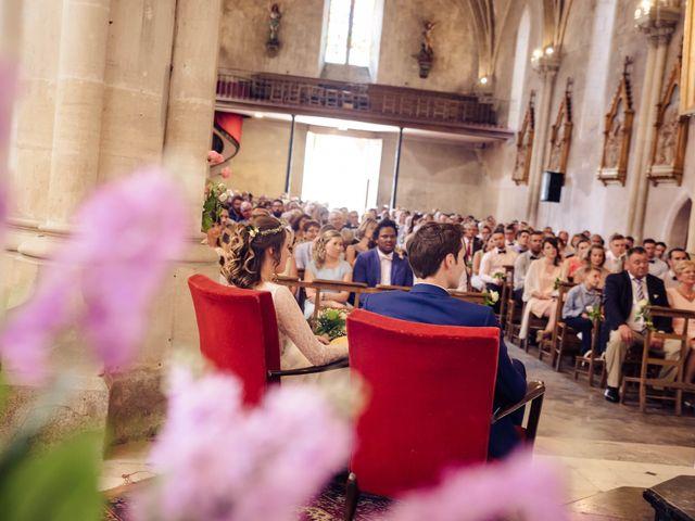 Le mariage de Baptiste et Sarah à Morannes, Maine et Loire 6