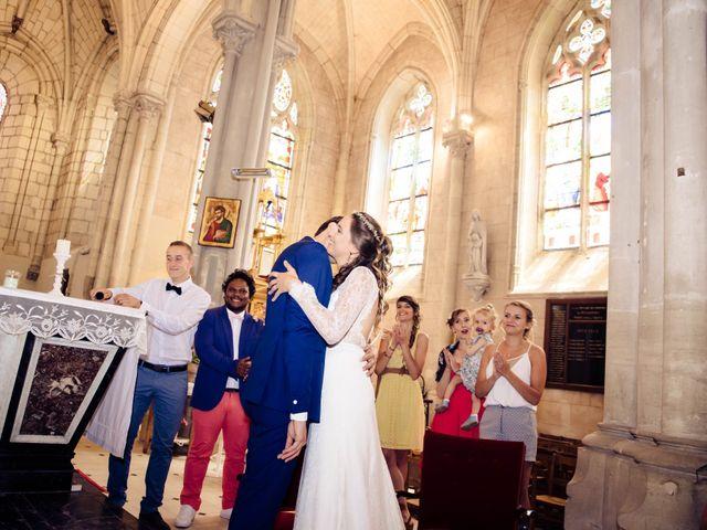 Le mariage de Baptiste et Sarah à Morannes, Maine et Loire 7