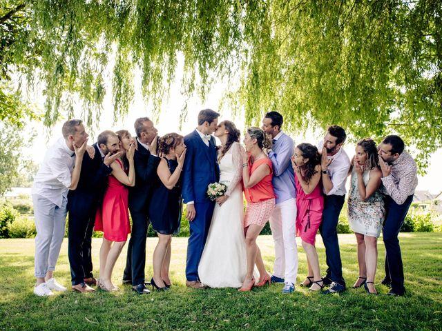 Le mariage de Baptiste et Sarah à Morannes, Maine et Loire 12