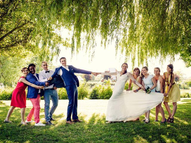 Le mariage de Baptiste et Sarah à Morannes, Maine et Loire 13
