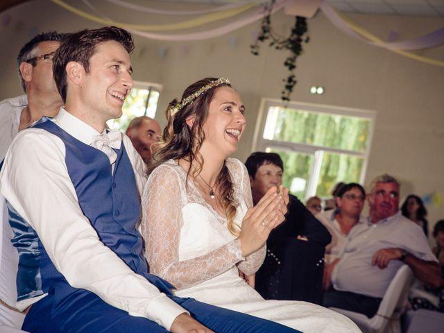 Le mariage de Baptiste et Sarah à Morannes, Maine et Loire 24