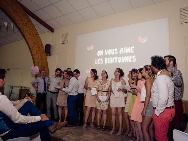 Le mariage de Baptiste et Sarah à Morannes, Maine et Loire 25