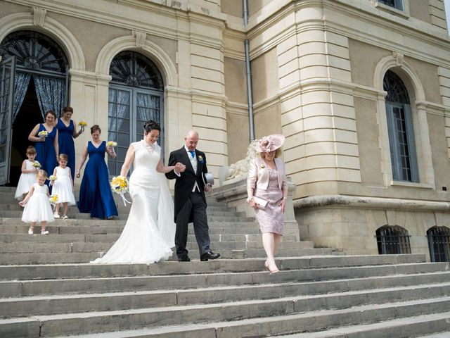 Le mariage de Tarran et Kate à Thuret, Puy-de-Dôme 34