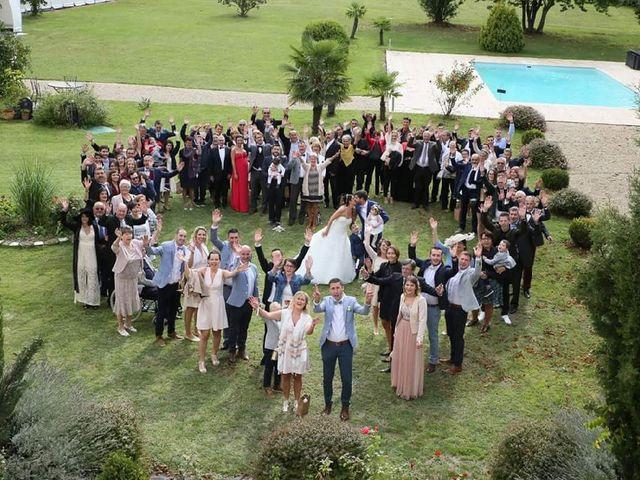 Le mariage de Mathieu  et Elna  à Foussignac, Charente 10
