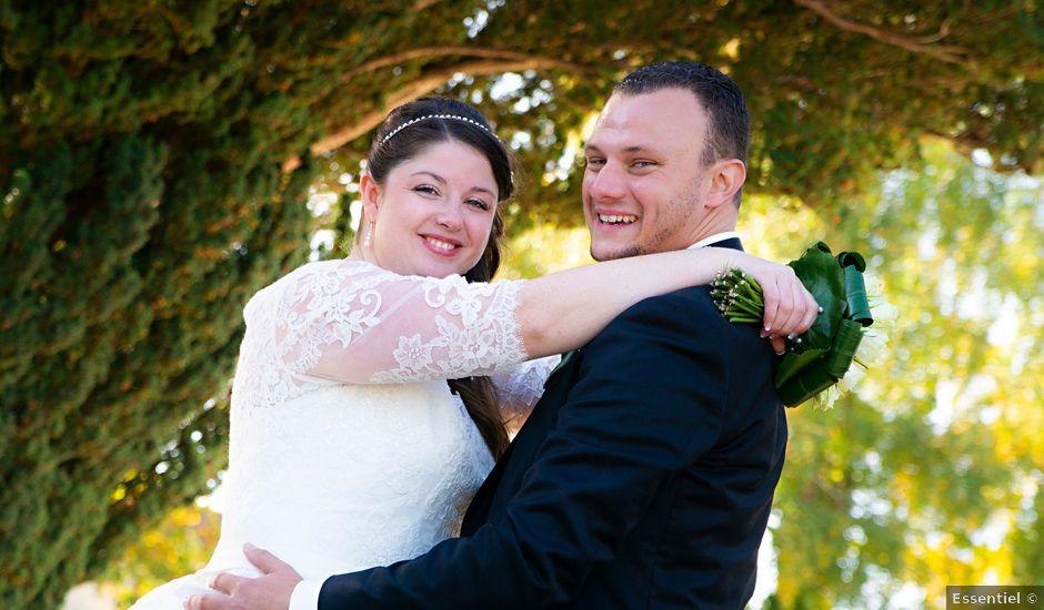 Le mariage de JEREMY et PRESCILLA à Saint-Pierre-du-Vauvray, Eure