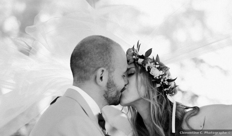 Le mariage de Maxence et Emma à Mazan, Vaucluse