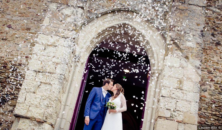 Le mariage de Baptiste et Sarah à Morannes, Maine et Loire