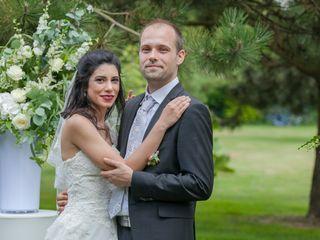 Le mariage de Elnaz Saberi Ansari et Gwenneg Kerdivel 1