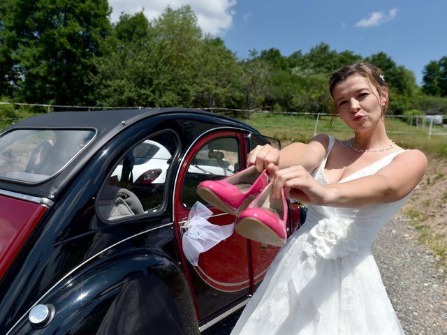 Le mariage de Adrien et Charline à Steige, Bas Rhin 7